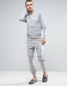Узкие джоггеры с манжетами Calvin Klein - Серый