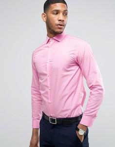 Строгая облегающая рубашка Selected - Розовый