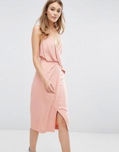 Платье Keepsake Without You - Розовый