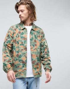 Спортивная куртка с камуфляжным принтом джунгли Element Murray - Зеленый