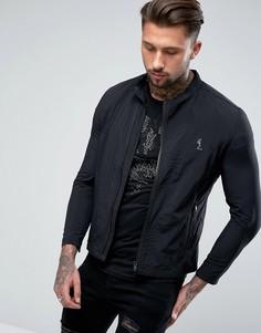 Легкая байкерская куртка Religion - Черный