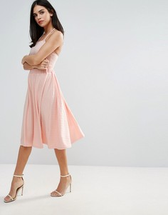 Трапециевидная юбка Unique 21 - Розовый