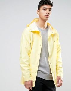 Желтая водооталкивающая куртка с капюшоном Rains - Желтый