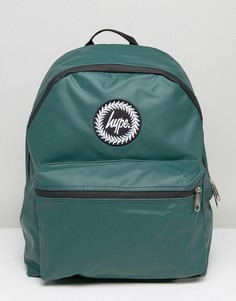 Зеленый прорезиненный рюкзак Hype - Зеленый