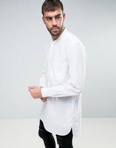 Длинная рубашка навыпуск YMC - Белый