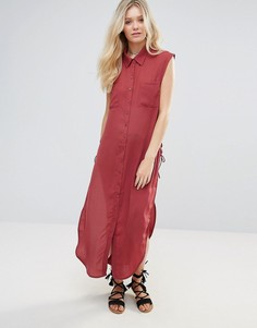 Длинная рубашка без рукавов Glamorous - Красный