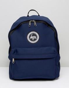 Темно-синий рюкзак из неопрена Hype - Темно-синий