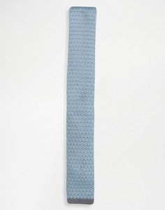 Вязаный галстук Selected Homme - Синий