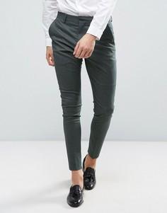 Супероблегающие брюки Selected Homme - Зеленый