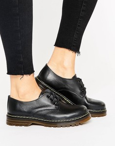 Кожаные туфли на шнуровке Park Lane - Черный