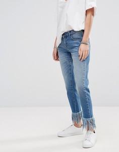 Укороченные джинсы Only - Синий