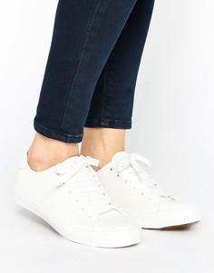 Кроссовки из искусственной кожи New Look - Белый