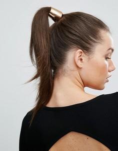 Резинка для волос с золотистой планкой РJohnny Loves Rosie - Золотой