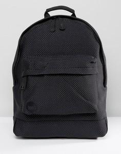 Черный рюкзак с узором в фактурный горошек Mi-Pac - Черный