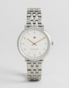 Серебристые часы Tommy Hilfiger Pippa - Серебряный
