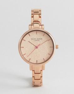Часы с покрытием из розового золота Daisy Dixon Leona - Золотой