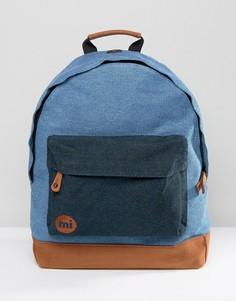 Джинсовый рюкзак со вставкой Mi-Pac - Синий