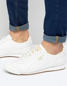 Белые кроссовки 36318401 Puma Roma OG Natural - Белый