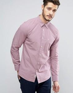 Красная рубашка классического кроя в клеточку Jack Wills Salcombe Nevis - Фиолетовый
