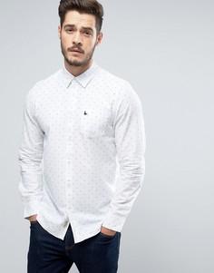 Рубашка классического кроя из ткани добби Jack Wills Twisleton - Белый