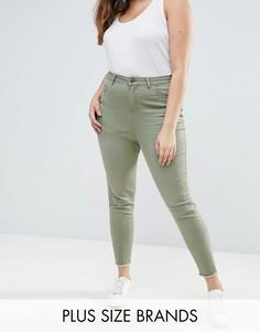 Цветные джинсы скинни New Look Plus - Зеленый