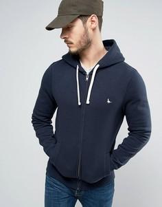 Худи темно-синего цвета с логотипом Jack Wills Pinebrook - Темно-синий