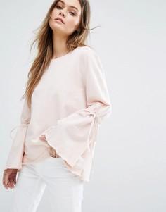 Свитер с большими рукавами Vero Moda - Розовый