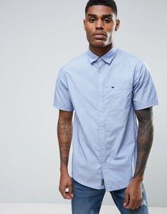 Хлопковая рубашка с короткими рукавами Tokyo Laundry - Синий