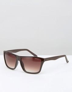 Квадратные солнцезащитные очки Esprit - Коричневый