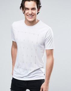 Белая футболка с принтом Nike SB 864881-100 - Белый