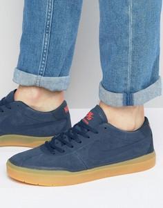 Темно-синие кроссовки Nike SB Bruin Hyperfeel 831756-449 - Темно-синий