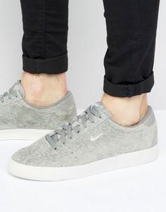 Серые замшевые кроссовки Nike Match Classic 844611-003 - Серый