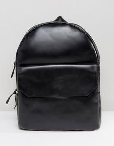 Кожаный рюкзак Royal RepubliQ New Courier - Черный