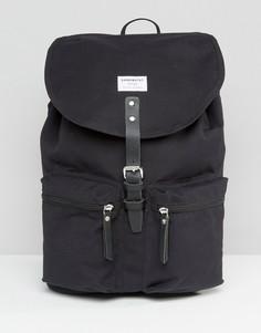 Черный рюкзак Sandqvist Roald - Черный