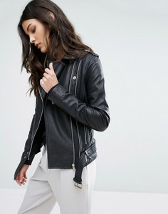Кожаная куртка Y.A.S Gwen - Черный