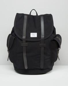 Черный рюкзак Sandqvist Vidar - Черный