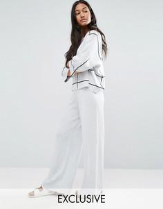 Широкие трикотажные брюки Micha Lounge - Мульти