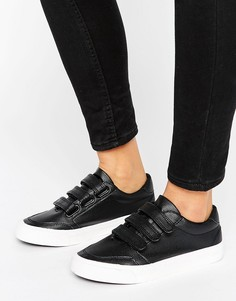Кроссовки с тремя ремешками New Look - Черный