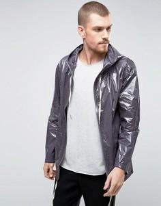 Куртка на молнии с капюшоном YMC - Серый