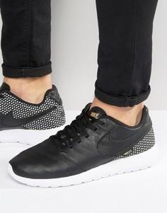 Черные кроссовки Nike FC Roshe Tiempo 852613-002 - Черный