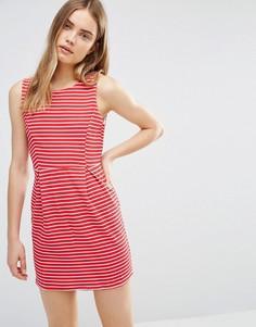 Платье в полоску Wal G - Красный
