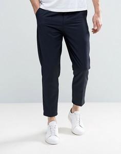 Укороченные брюки Only & Sons - Темно-синий
