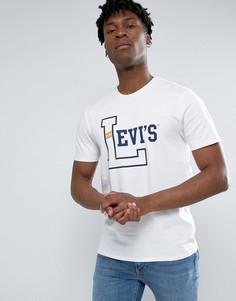 Футболка с университетским логотипом Levis - Белый Levis®