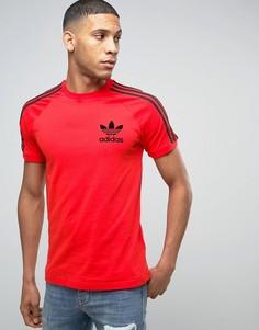 Красная футболка adidas Originals California BK7544 - Красный
