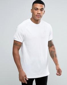 Белая футболка adidas Originals California BK7555 - Белый