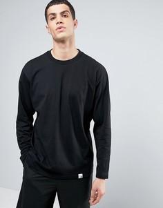 Черный лонгслив adidas Originals X By O BQ3058 - Черный