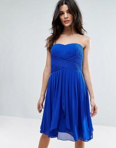 Платье мини Y.A.S Molly - Синий