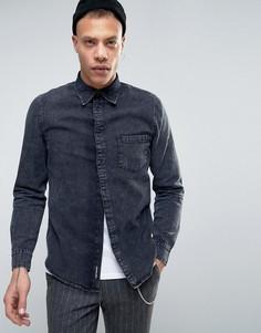 Джинсовая рубашка Cheap Monday Rude - Черный
