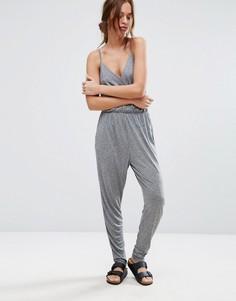 Комбинезон Selected Femme Bina - Серый