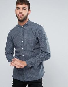 Узкая рубашка в клетку с 1 карманом Levis - Синий Levis®